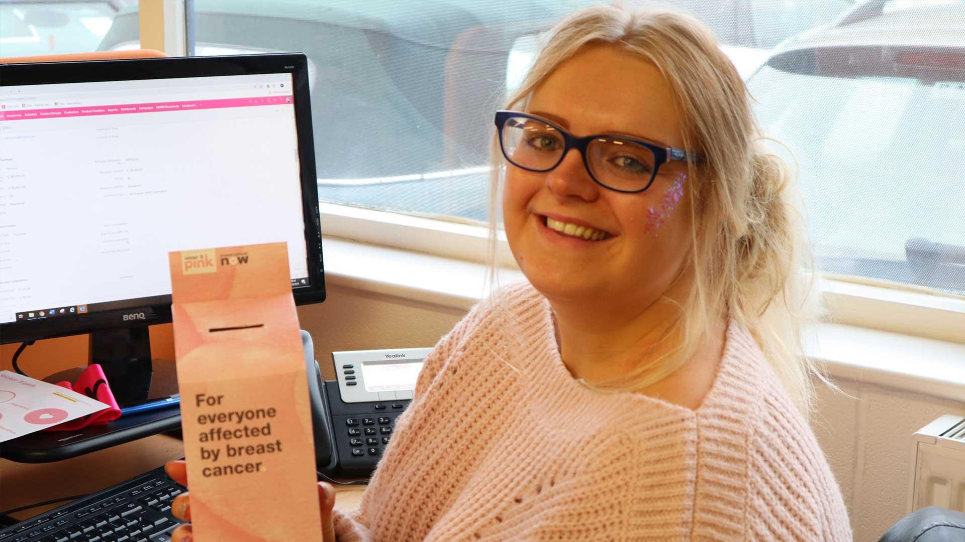 Wear it Pink at Nottinghammoneyman | Mortgage Broker